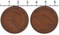 Изображение Монеты Австралия 1 пенни 1943 Бронза XF