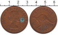 Изображение Монеты Австралия 1 пенни 1956 Бронза XF