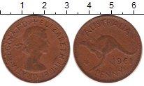 Изображение Монеты Австралия 1 пенни 1961 Бронза XF