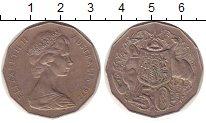 Изображение Монеты Австралия 50 центов 1972 Медно-никель XF