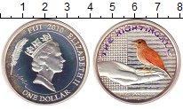 Изображение Монеты Фиджи 1 доллар 2010 Серебро Proof-