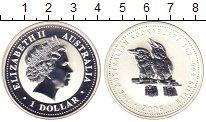Изображение Монеты Австралия 1 доллар 2006 Серебро Proof Елизавета II.  Кукуб