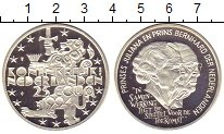Изображение Монеты Нидерланды 25 экю 1994 Серебро Proof