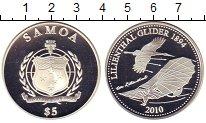 Изображение Монеты Самоа 5 долларов 2010 Серебро Proof