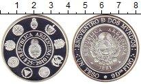 Изображение Монеты Аргентина 25 песо 2010 Серебро Proof Нумизматика Украины.