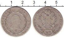 Изображение Монеты Австрия 20 крейцеров 1804 Серебро XF