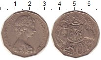 Изображение Монеты Австралия 50 центов 1980 Медно-никель XF