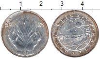 Изображение Монеты Мальта 1 фунт 1979 Серебро XF Уход  с  территории