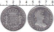 Изображение Монеты Испания 8 реалов 1818 Серебро VF