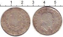 Изображение Монеты Италия 2 лиры 1863 Серебро VF Виктор  Эммануил II