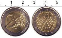 Изображение Монеты Франция 2 евро 2014 Биметалл UNC-