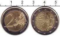 Изображение Монеты Финляндия 2 евро 2010 Биметалл UNC- Финский лев