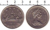 Изображение Монеты Канада 1 доллар 1976 Медно-никель UNC-