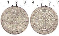 Изображение Монеты Австрия 50 шиллингов 1970 Серебро UNC- 300 - летие  Универс