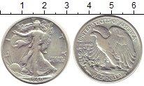 Изображение Монеты США 1/2 доллара 1940 Серебро VF