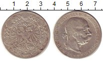 Изображение Монеты Австрия 5 крон 1900 Серебро VF Франц Иосиф I