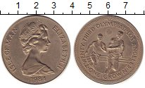 Изображение Монеты Великобритания Остров Мэн 1 крона 1984 Медно-никель UNC-
