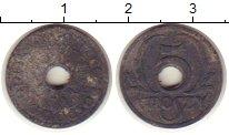 Изображение Монеты Польша 5 грош 1939 Цинк VF