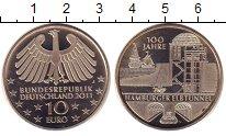 Монета Германия 10 евро Медно-никель 2011 UNC фото