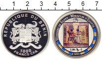 Изображение Монеты Бенин 1000 франков 2012 Серебро Proof