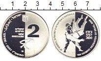 Изображение Монеты Израиль 2 шекеля 2007 Серебро Proof