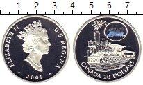Монета Канада 20 долларов Серебро 2001 Proof фото