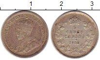 Изображение Монеты Канада 5 центов 1916 Серебро XF