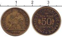 Изображение Монеты Франция 50 сантим 1924 Латунь XF