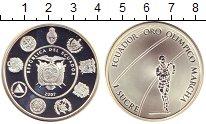 Изображение Монеты Эквадор 1 сукре 2007 Серебро Proof