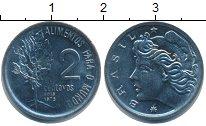 Изображение Монеты Бразилия 2 сентаво 1975 Медно-никель UNC