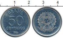 Изображение Монеты Бразилия 50 сентаво 1986 Медно-никель XF