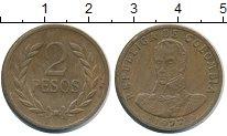 Изображение Монеты Колумбия 2 песо 1977 Бронза XF