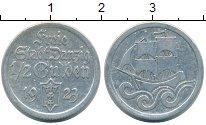 Изображение Монеты Данциг 1/2 гульдена 1923 Серебро XF