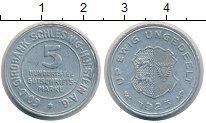 Изображение Монеты Германия Шлезвиг-Гольштейн 5/100 марки 1923 Алюминий XF