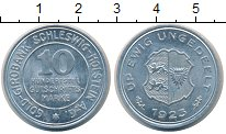 Изображение Монеты Шлезвиг-Гольштейн 10/100 марки 1923 Алюминий UNC-