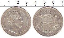 Изображение Монеты Саксония 1 талер 1843 Серебро XF