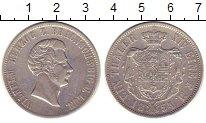 Изображение Монеты Брауншвайг-Люнебург 1 талер 1854 Серебро XF В  Вильгельм