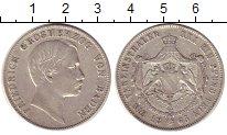 Изображение Монеты Германия Баден 1 талер 1865 Серебро XF