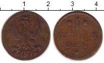 Изображение Монеты Германия Франкфурт 1 геллер 1814 Медь VF