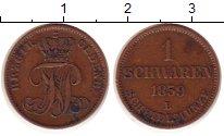 Изображение Монеты Германия Ольденбург 1 шварен 1859 Медь XF