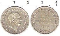 Изображение Монеты Германия Ганновер 12 грош 1846 Серебро VF