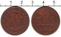 Изображение Монеты Юлих-Берг 1/2 стюбера 1786 Медь VF