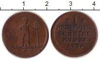 Изображение Монеты Германия Брауншвайг 1 пфенниг 1776 Медь XF