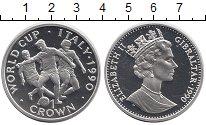 Изображение Монеты Гибралтар 1 крона 1990 Медно-никель Proof-