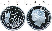 Изображение Монеты Австралия 20 центов 2001 Медно-никель Proof Елизавета II.  100 -