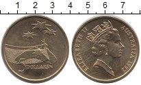 Изображение Монеты Австралия 5 долларов 1992 Латунь UNC