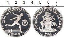 Изображение Монеты Багамские острова 10 долларов 1984 Серебро Proof-