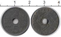 Изображение Монеты Третий Рейх 5 пфеннигов 1942 Цинк VF
