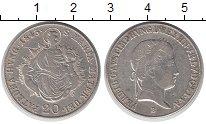 Изображение Монеты Австрия 20 крейцеров 1843 Серебро XF