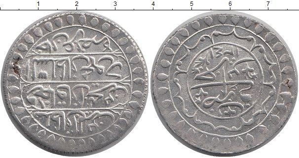 Картинка Монеты Алжир 2 буджу Серебро 1825